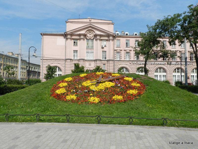rellotge flors