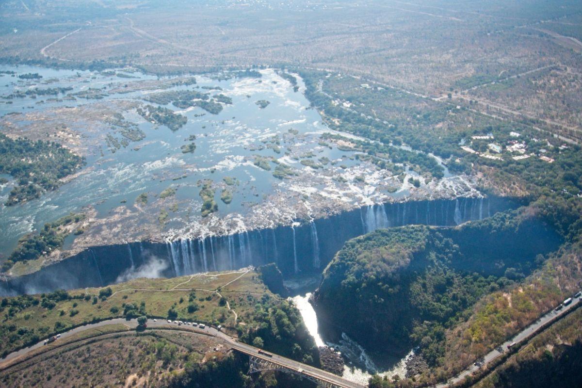 Flight of Angels Victoria Falls